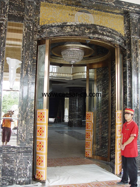 Guangzhou Chateau Star River Hotel Caesar Automatic Curved Door Installation Project