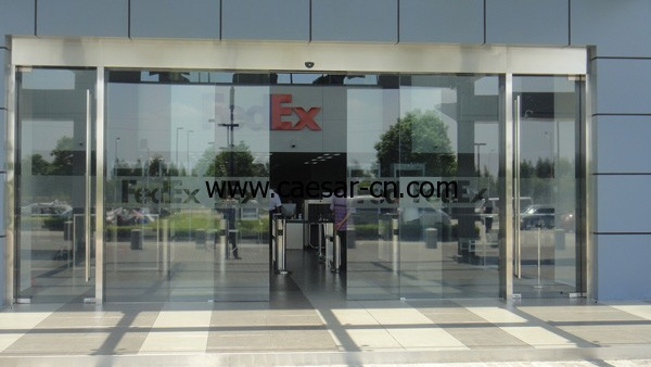 Guangzhou FedEx Caesar automatic slidng door project