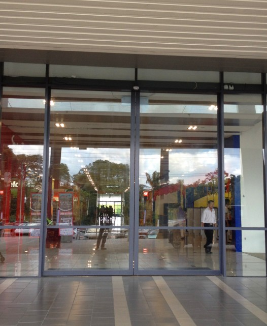 EC/ES series Automatic doors installation in Malaysia