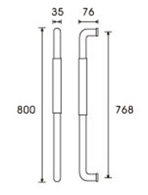 pull handle CA-210