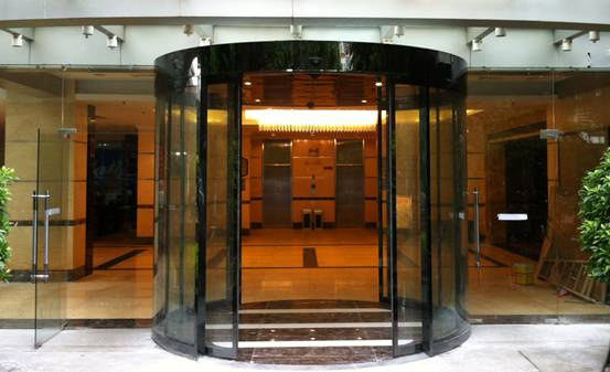 Curved Automatic Sliding Door