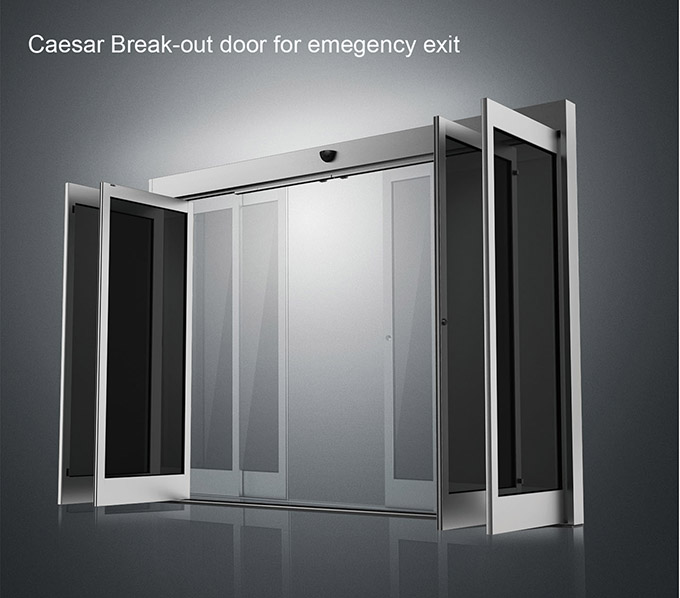 Caesar Break-out Door For Emegency Exit