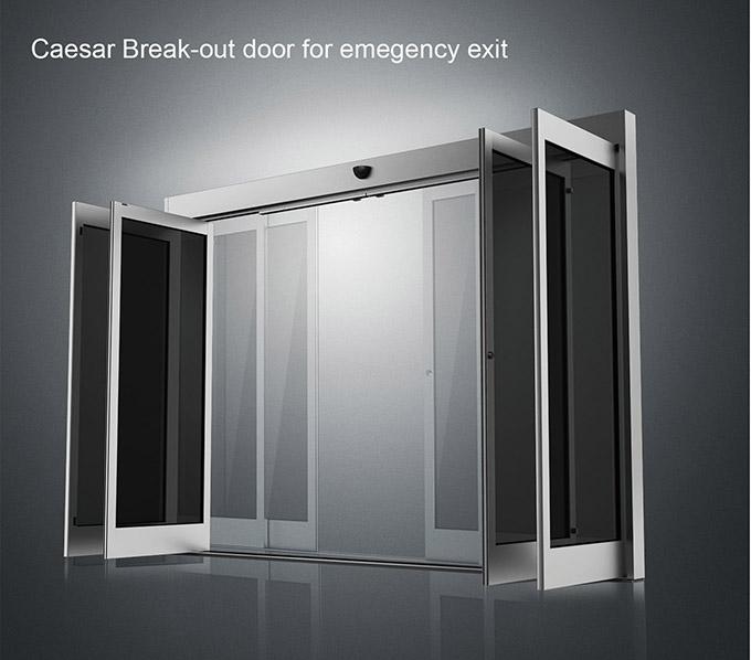 Caesar Break-out Door For Emegency Exit