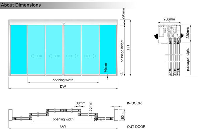 DSD整门尺寸图