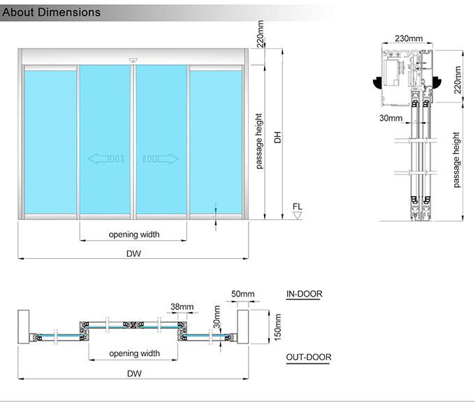 EC100整门尺寸图